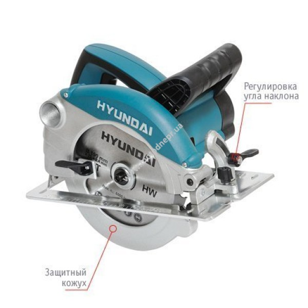 Циркулярная пила HYUNDAI C1500-190 Expert