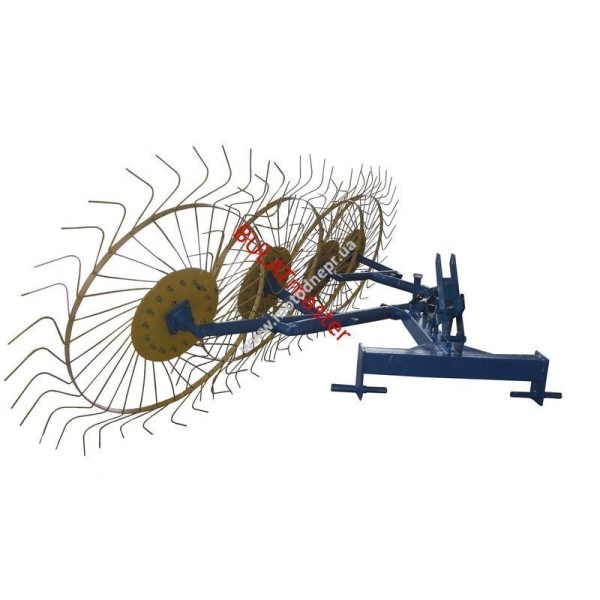 Грабли-ворошилки Булат (Солнышко) толщина граблины 6,0 мм для минитрактора