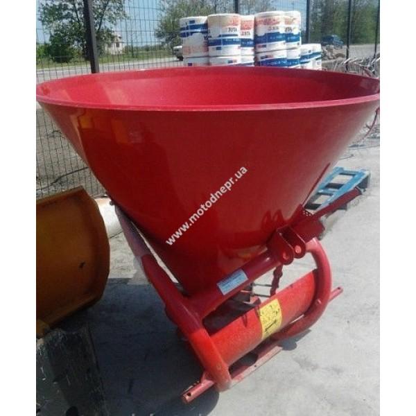 Разбрасыватель минеральных удобрений BOMET 500 кг (jar-met) садовый