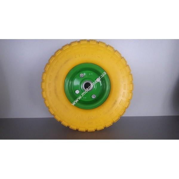 Колесо полиуретановое 3,50-4, подшипник 20 мм