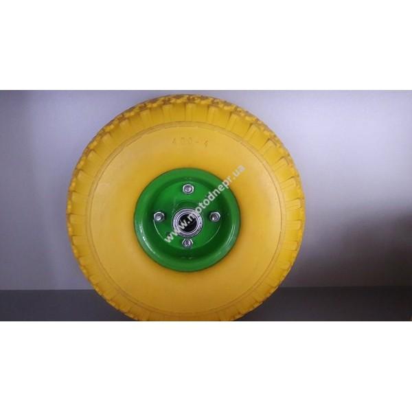 Колесо полиуретановое 4,00-4, подшипник 20 мм