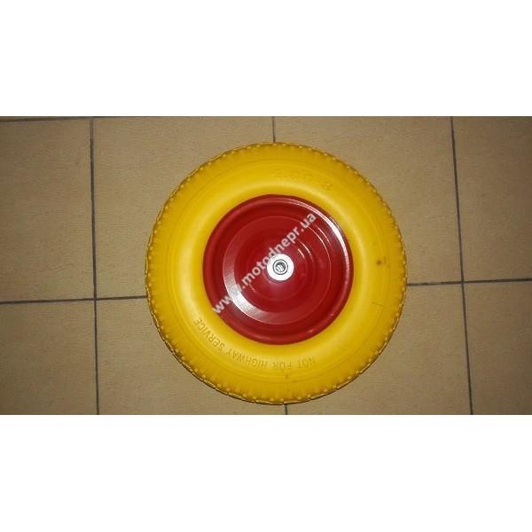 Колесо полиуретановое 4,00-8, подшипник 12 мм
