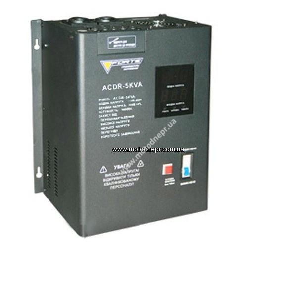 Стабилизатор напряжения напряжения FORTE ACDR-5kVA (140-260 В)