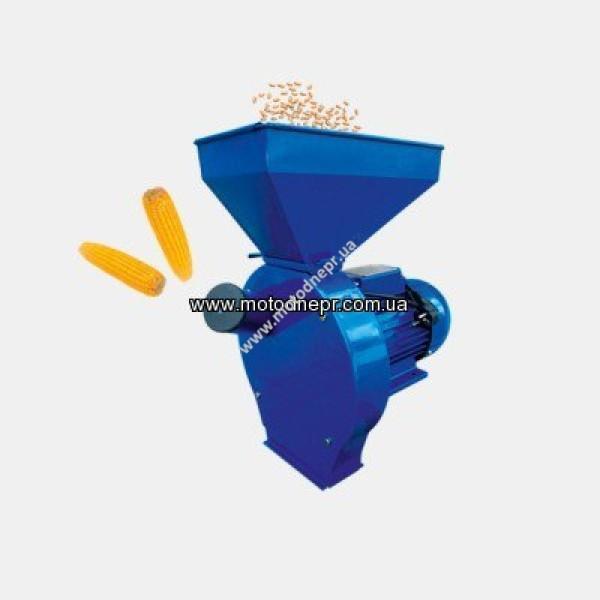 Кормоизмельчитель ДТЗ КР-02К (зерно + почтаки кукурузы, производительность 200 кг/ч)