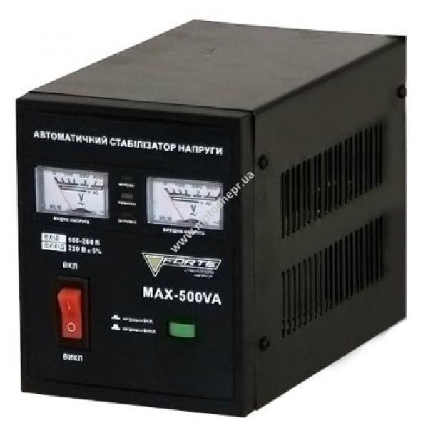 Стабилизатор напряжения напольный FORTE MAX-500VA (160-260 В)