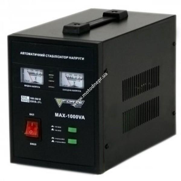 Стабилизатор напряжения напольный FORTE MAX-1000VA NEW (160-260 В)