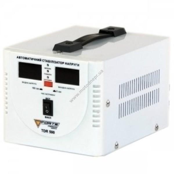 Стабилизатор напряжения напольный FORTE TDR-500VA (130-260 В)