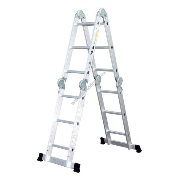 Лестница шарнирная Кентавр 4х3м