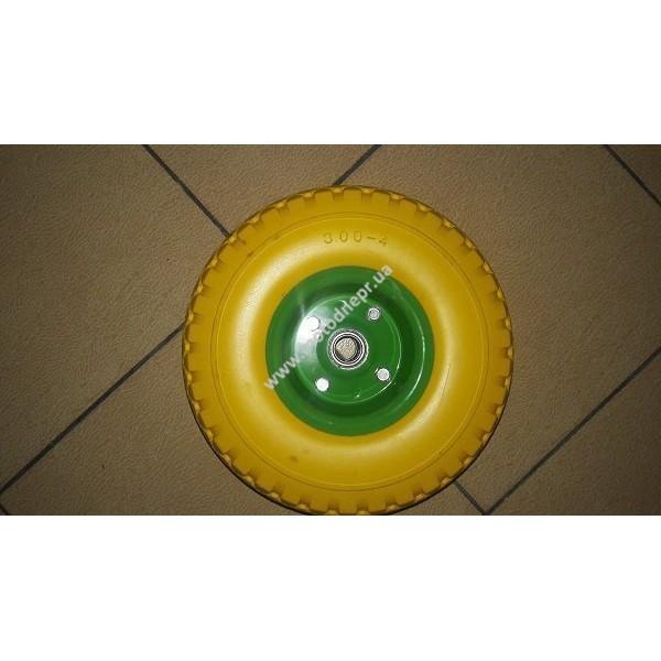 Колесо полиуретановое 3,00-4, подшипник 20мм